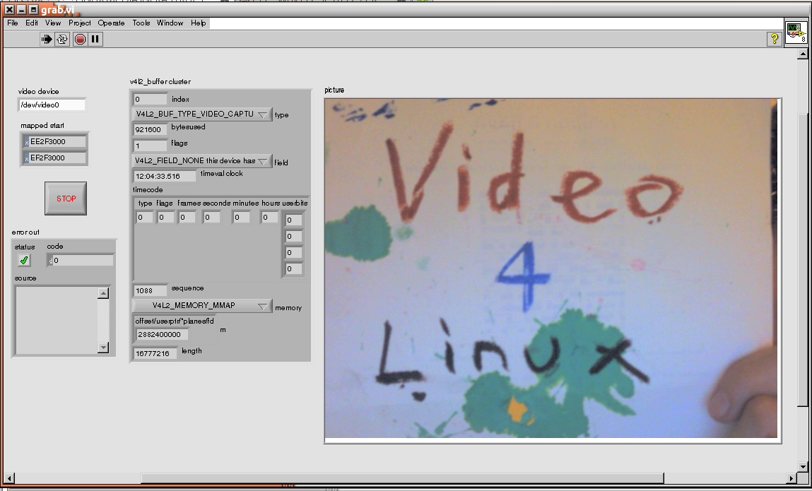 LVVideo4Linux