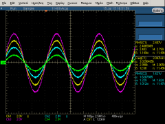 4 Of 8 Sine Waves 450KSs each