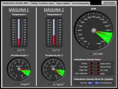 Boat Control System - Temperature, Pressure, RPM
