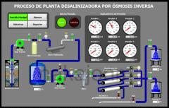 Planta desalinizadora por Ósmosis Inversa - Reverse Osmosis Plant