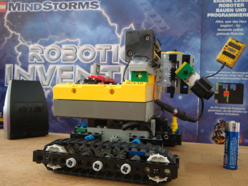 Lego RCX motion detection watch dog
