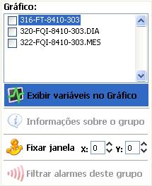 Menu of group windows
