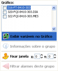 Menu of group windows