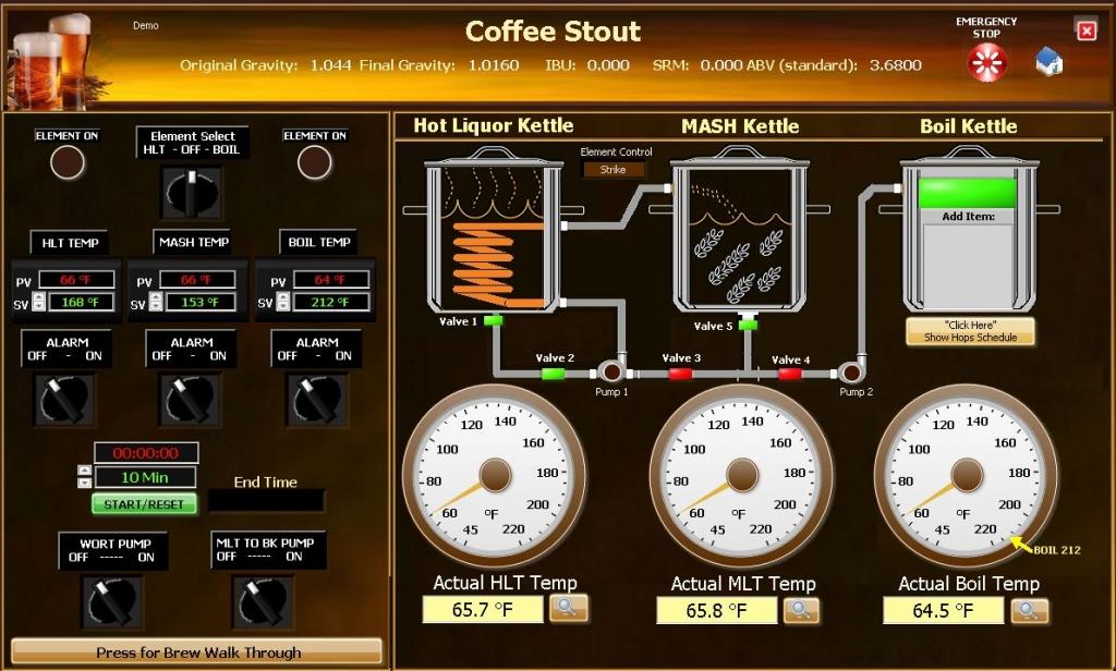 Beer Brewing Software