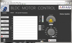Brushlesss DC motor data Acuisition