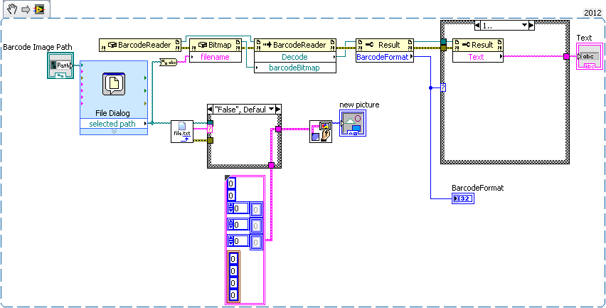 Barcode decoder by using Labview - LabVIEW General - LAVA