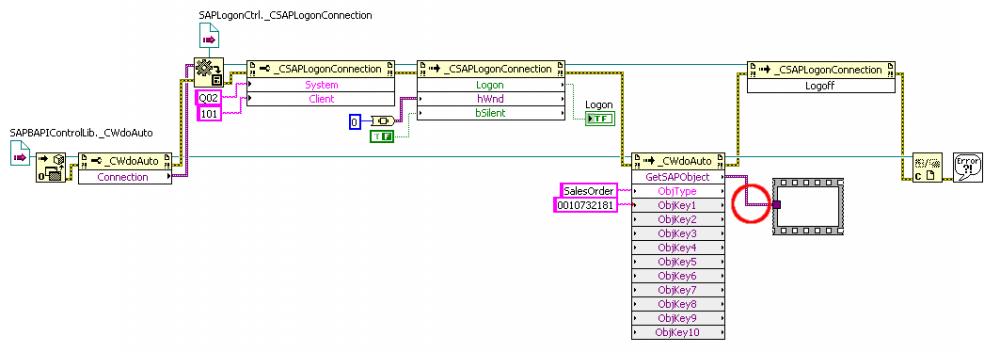 SAP BAPI ActiveX Interface - Calling External Code - LAVA
