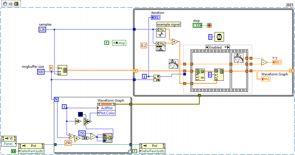 Displaying Large Data - LabVIEW General - LAVA