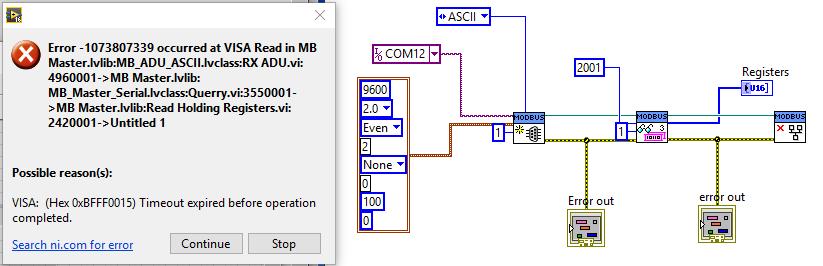 Communicate with Omron E5CC using Modbus - Remote Control