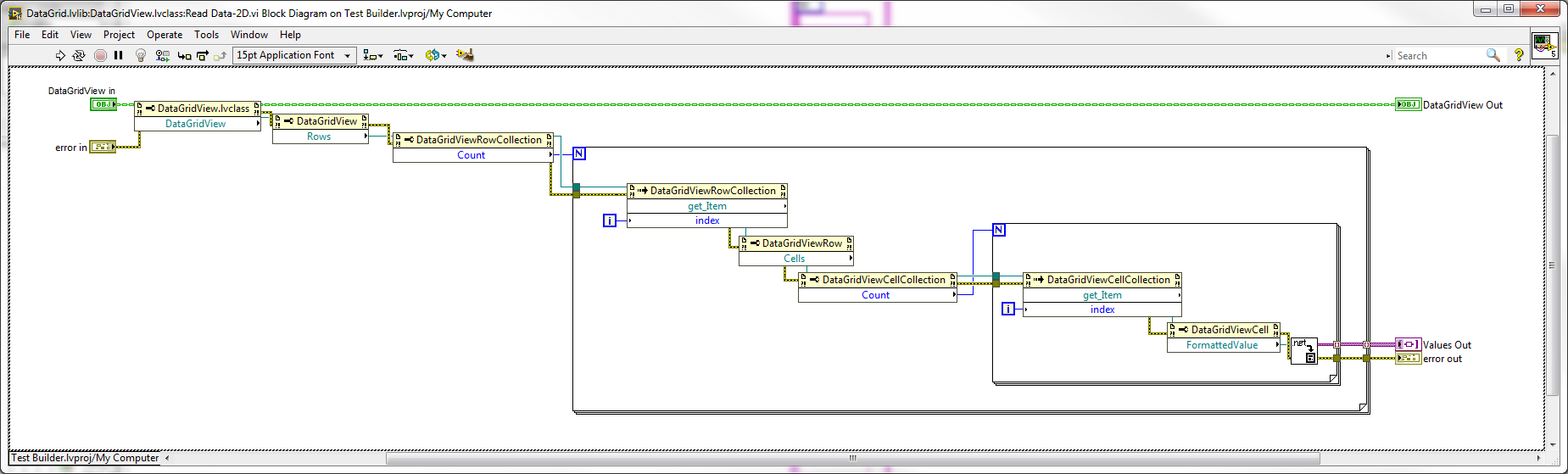 Full DataGridView for LabVIEW - OPEN SOURCE project underway - User